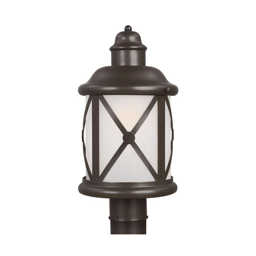 Lakeview 1-Light Antique Bronze Outdoor Post Top