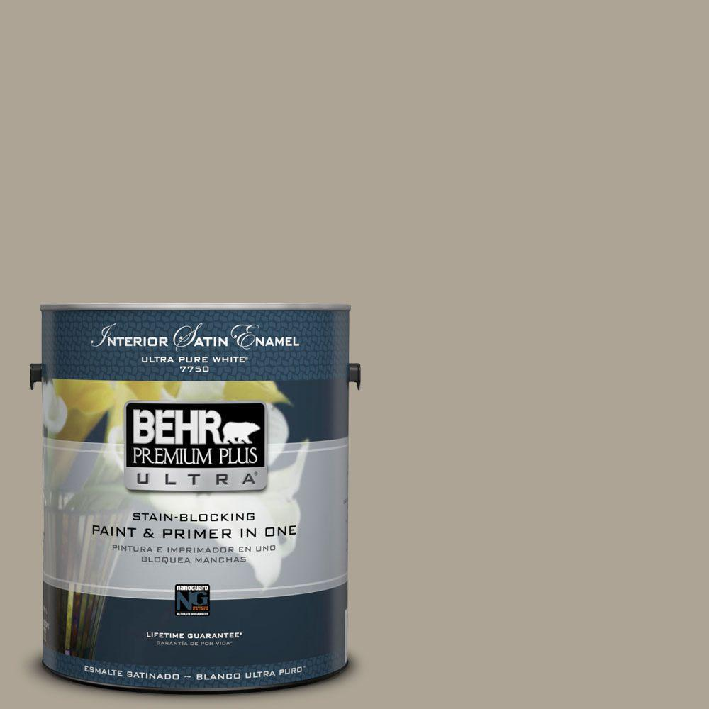 BEHR Premium Plus Ultra Home Decorators Collection 1-gal. #HDC-NT-14 Smoked Tan