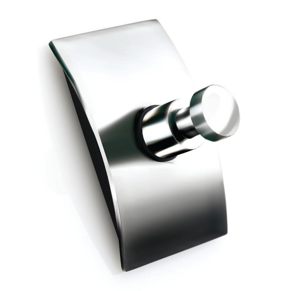 Croydex Kensington Single Robe Hook in Chrome-DISCONTINUED