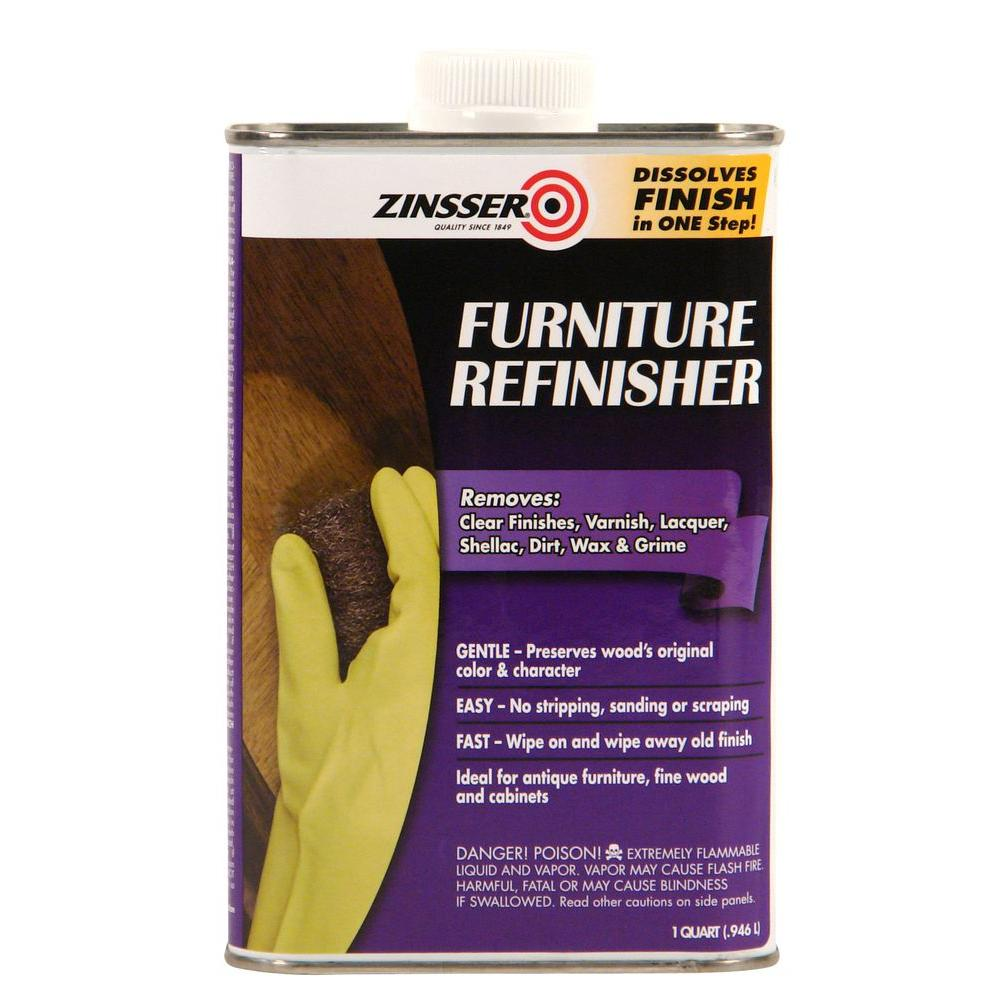 Zinsser 1-qt. Furniture Refinisher (Case of 6)-42144 - The Home Depot