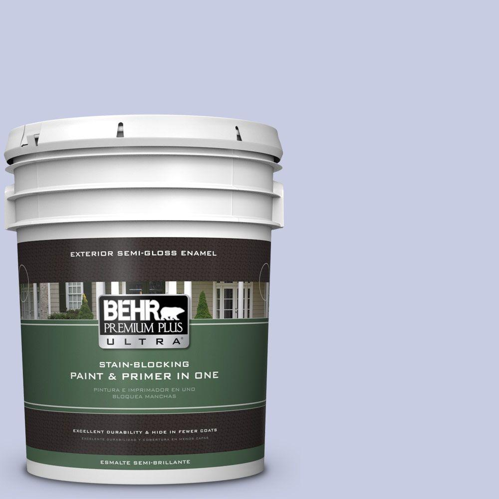 5-gal. #620C-2 Lilac Bisque Semi-Gloss Enamel Exterior Paint