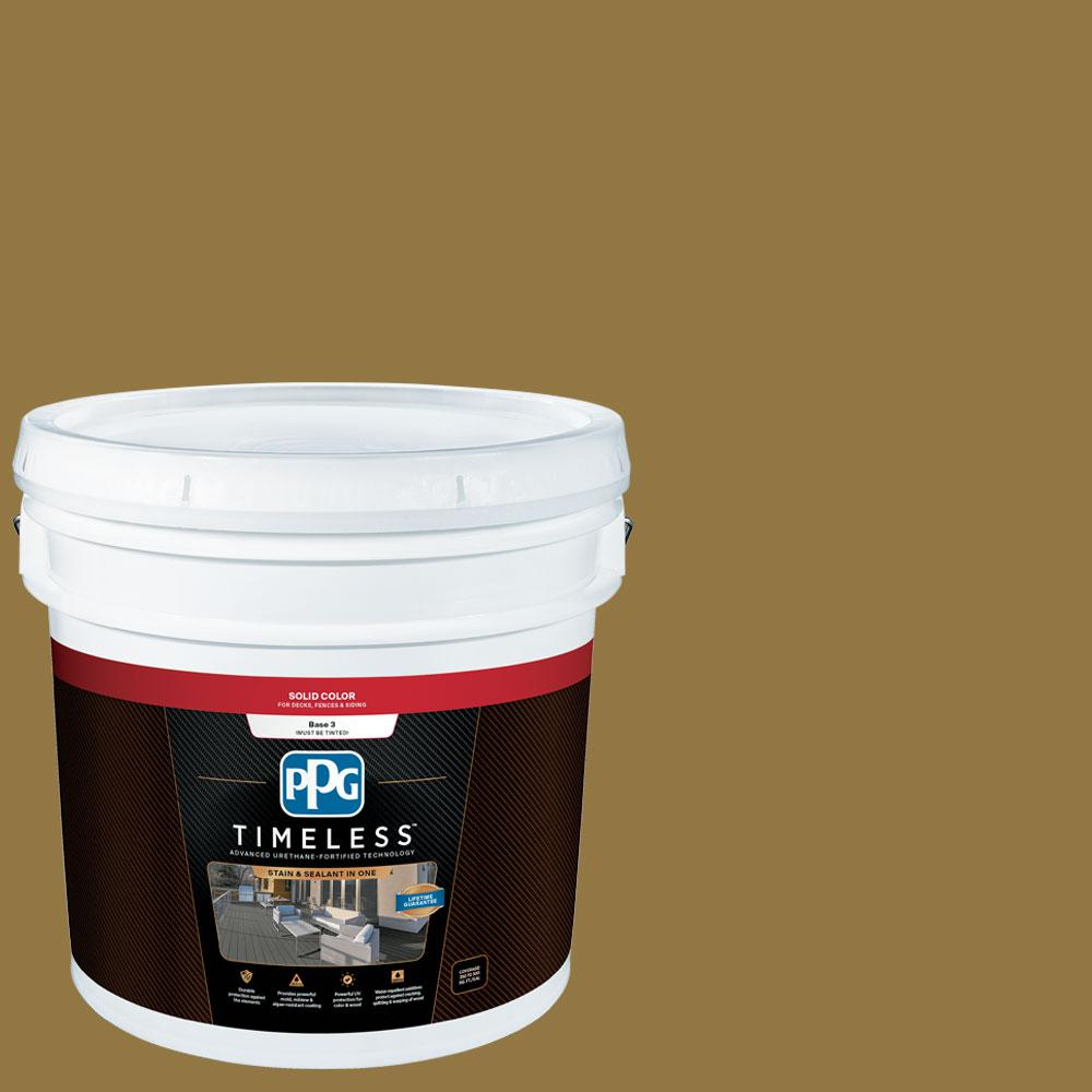 3 gal. TSC-31 Cypress Earth Solid Exterior Stain