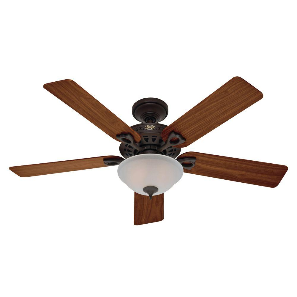 Astoria 52 in. Bronze Ceiling Fan-DISCONTINUED