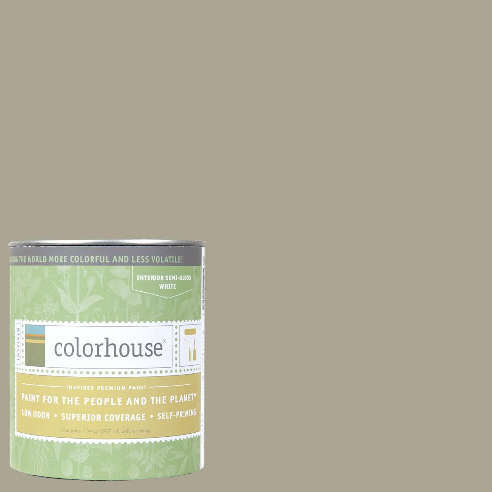 Colorhouse 1 qt. Stone .05 Semi-Gloss Interior Paint