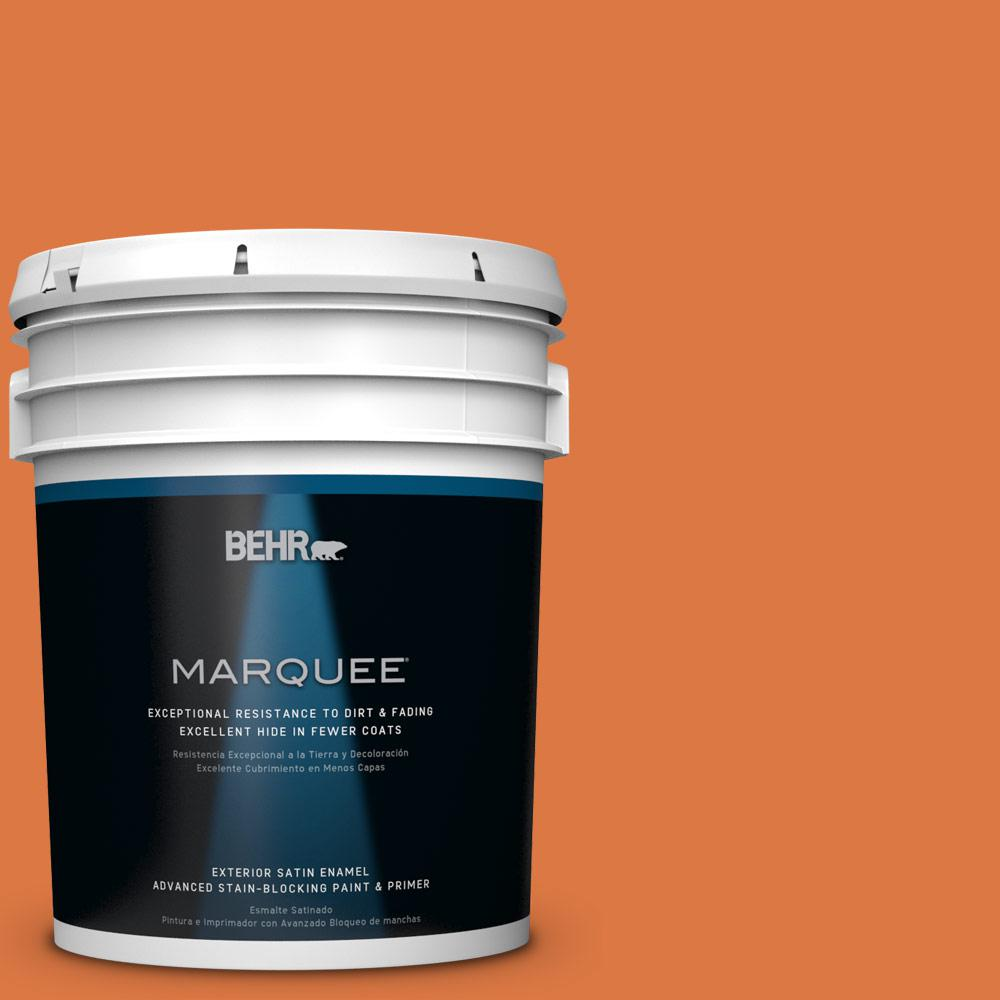 BEHR MARQUEE 5-gal. #P210-7 Japanese Koi Satin Enamel Exterior Paint