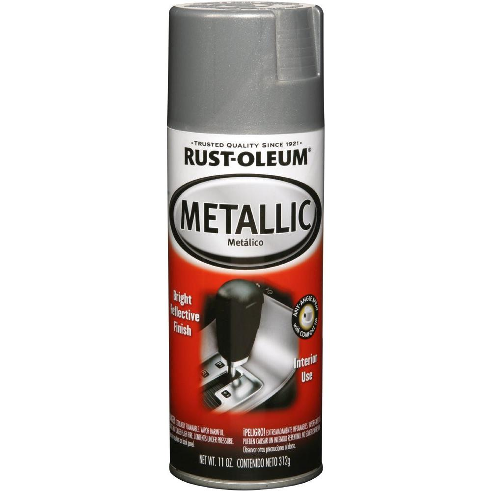 11 oz aluminum metallic spray paint 248655 the home depot. Black Bedroom Furniture Sets. Home Design Ideas