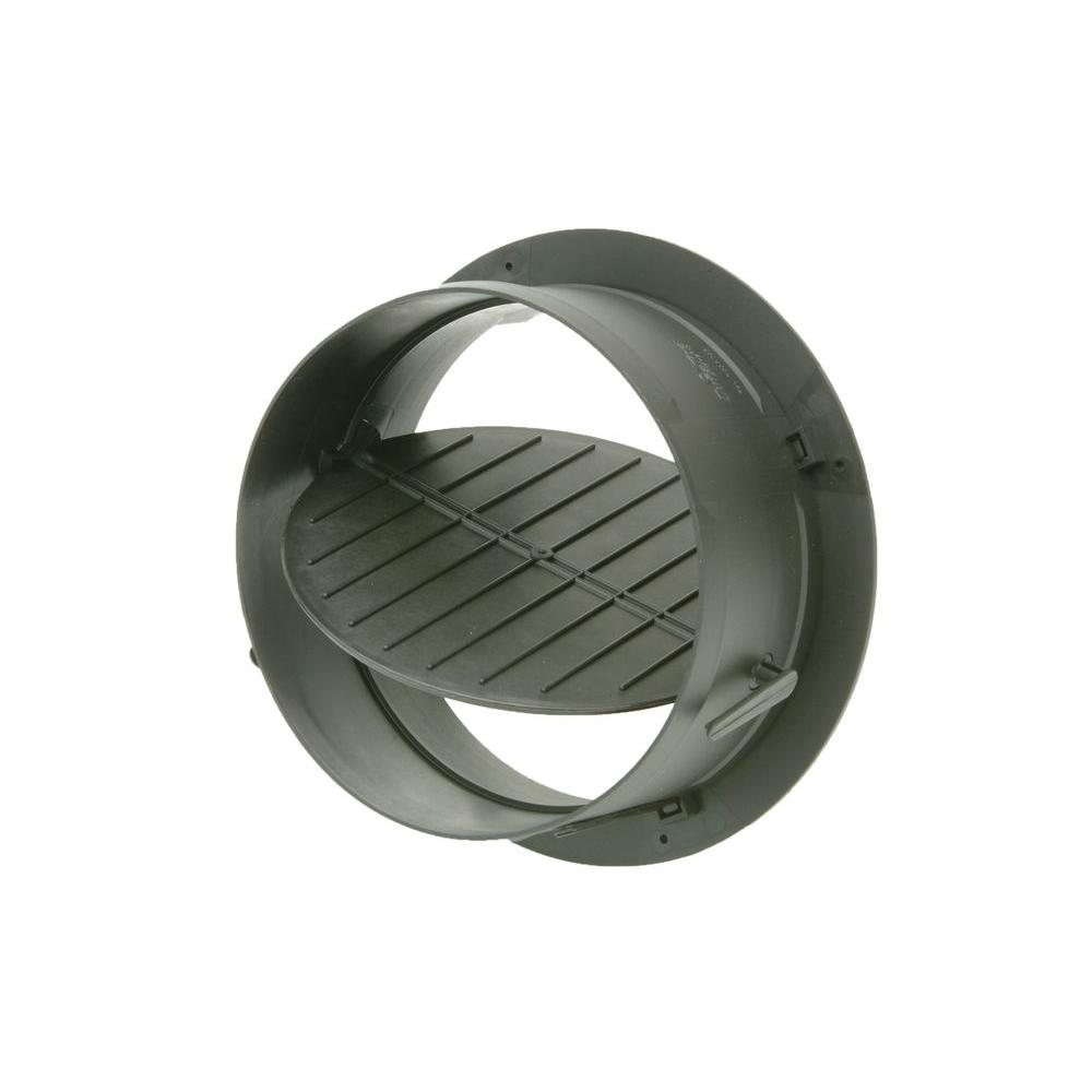 5 in. Take Off Start Collar with Damper for HVAC Duct