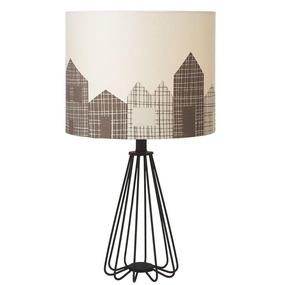 Filament Design Sundry 21.75 in. Black Table Lamp-DISCONTINUED