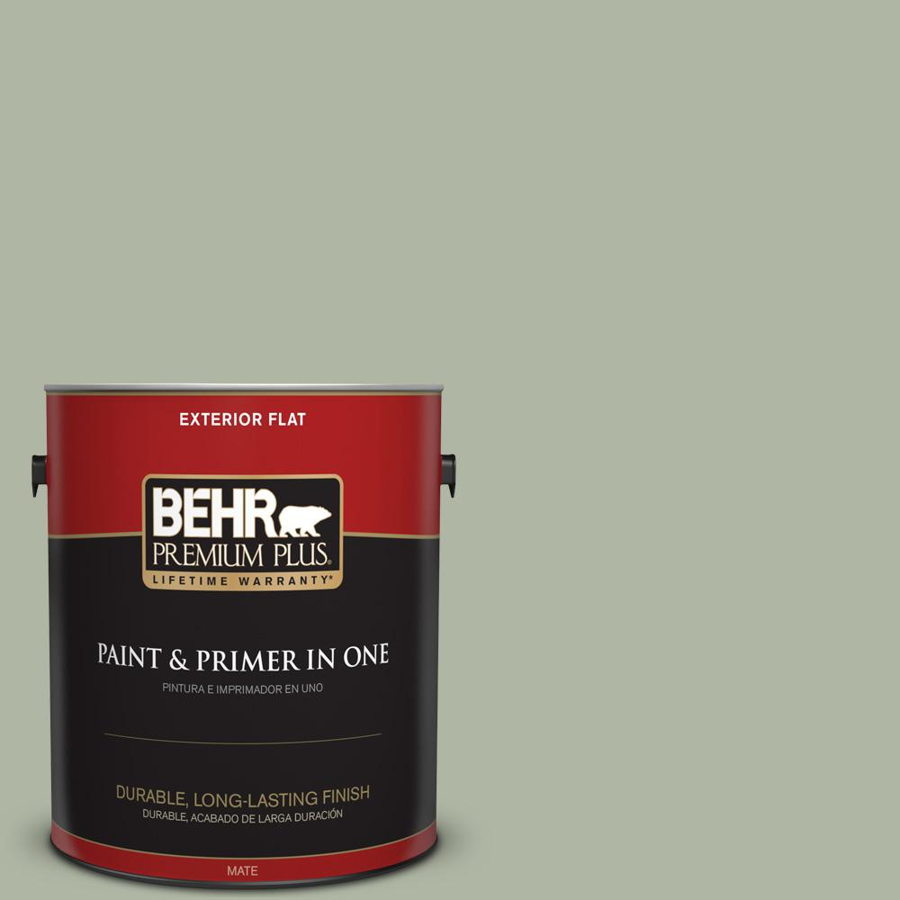 1 gal. #PPU11-09 Environmental Flat Exterior Paint