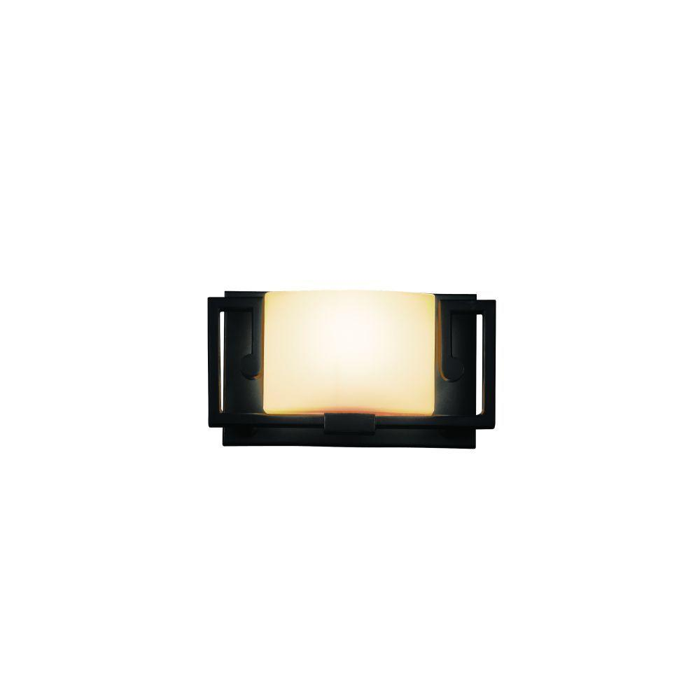 Eurofase Ardon Collection 1-Light Oil-Rubbed Bronze Wall Sconce-DISCONTINUED
