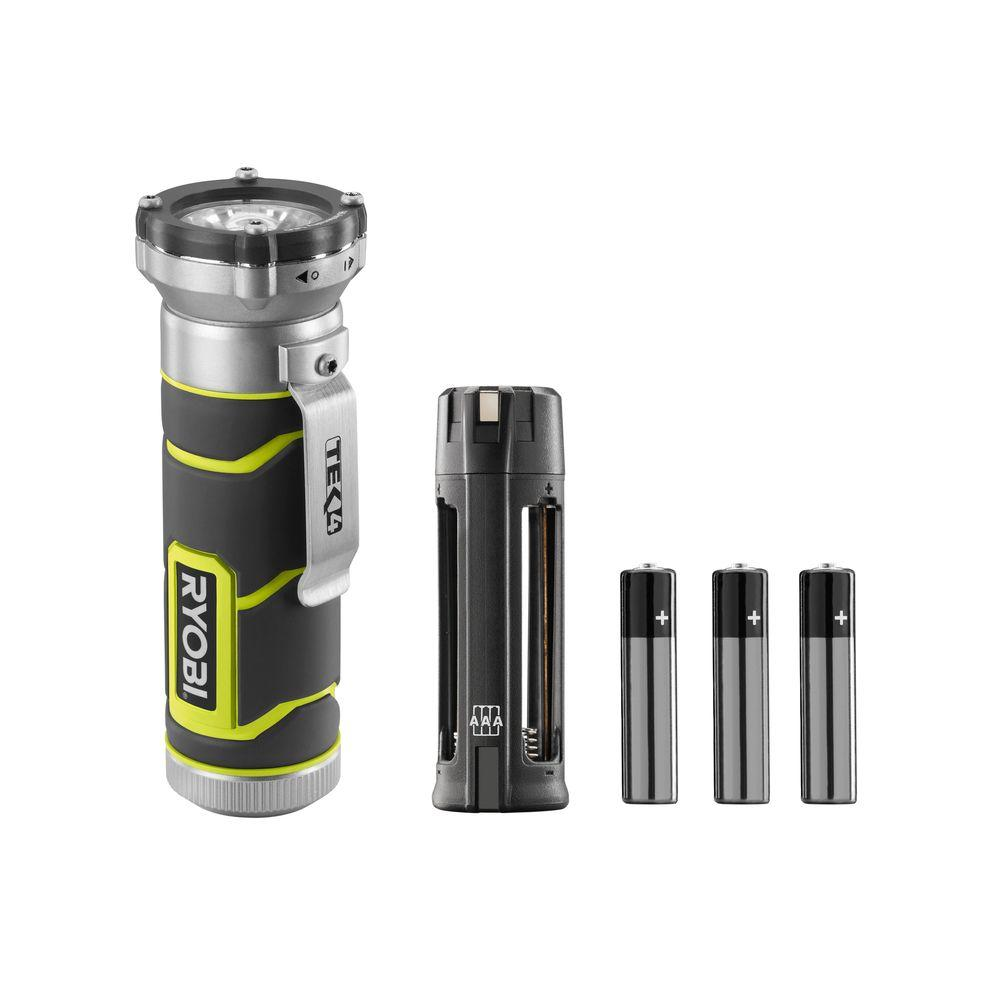 Ryobi Tek4 4-Volt LED High-Intensity Flashlight