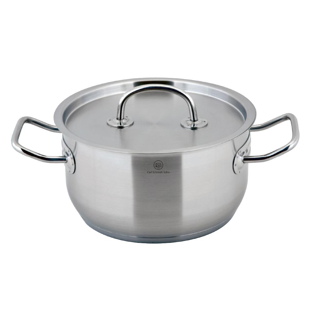Pro-X 3.2 Qt. Stainless Steel Stock Pot with Lid