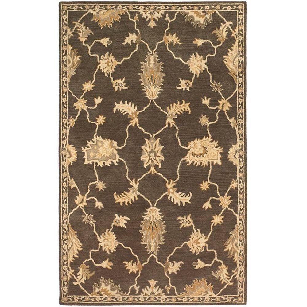Home Decorators Collection Breton Dark Brown 2 ft. x 3 ft. Area Rug