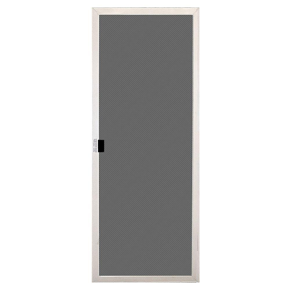 MasterPiece 30 In. X 77-1/2 In. White Reversible Sliding