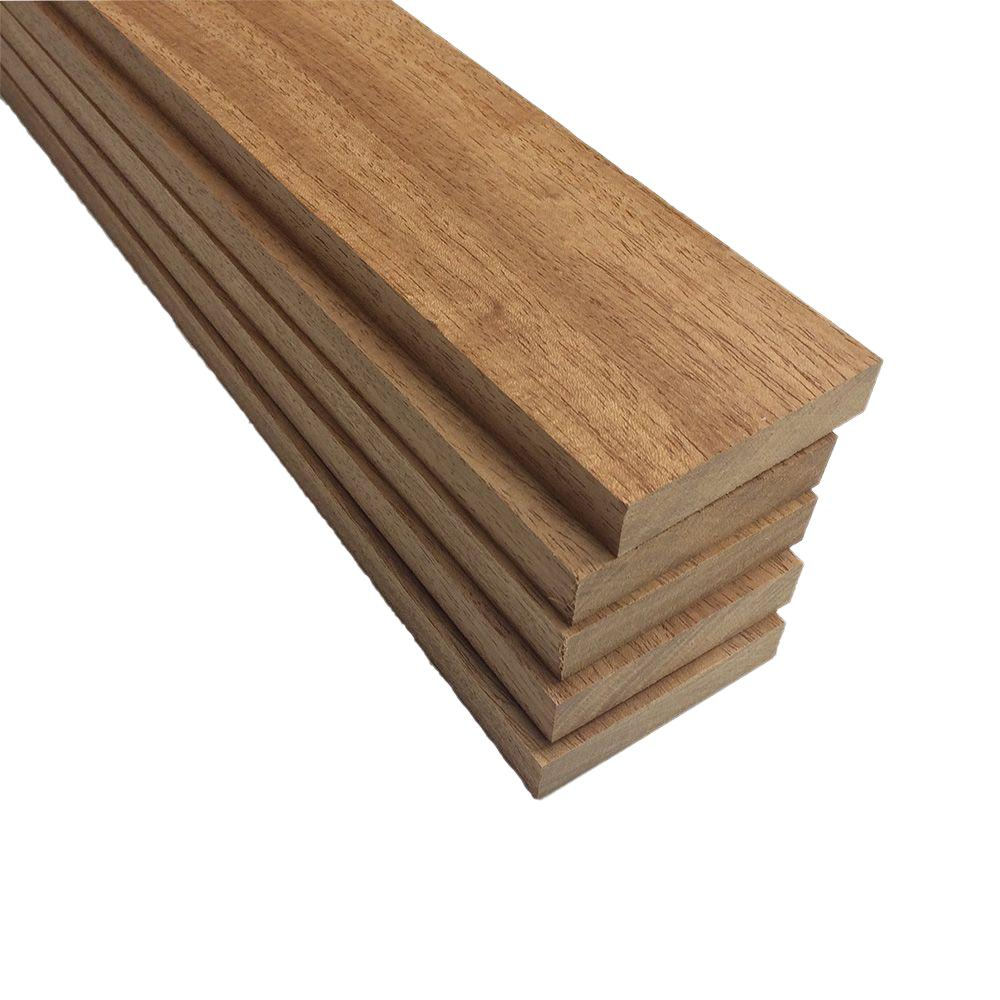 1 in. x 4 in. x 2 ft. FAS Mahogany S4S