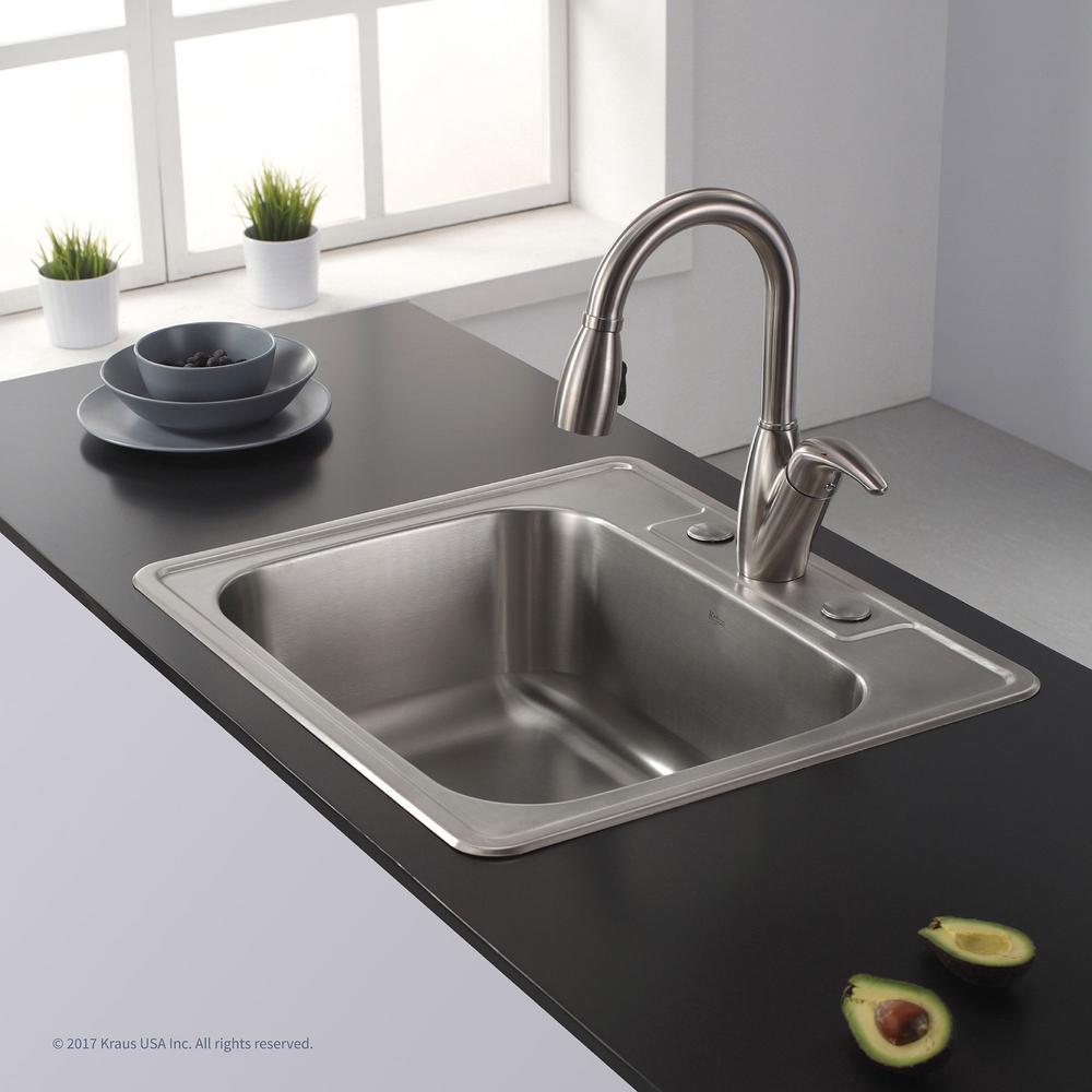 ktm series kitchen sink kits by kraus bath the home depot rh homedepot com