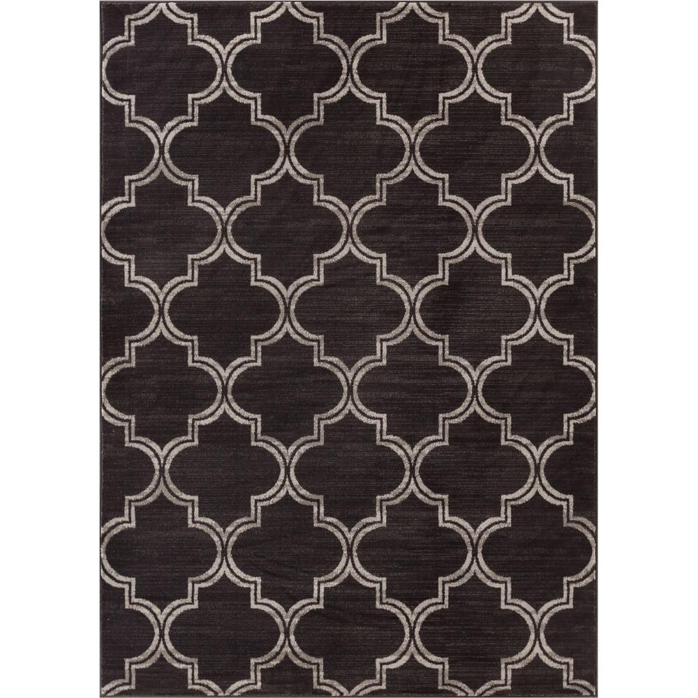 Well Woven Amba Jaclyn Charcoal 7 ft. 10 in. x 9