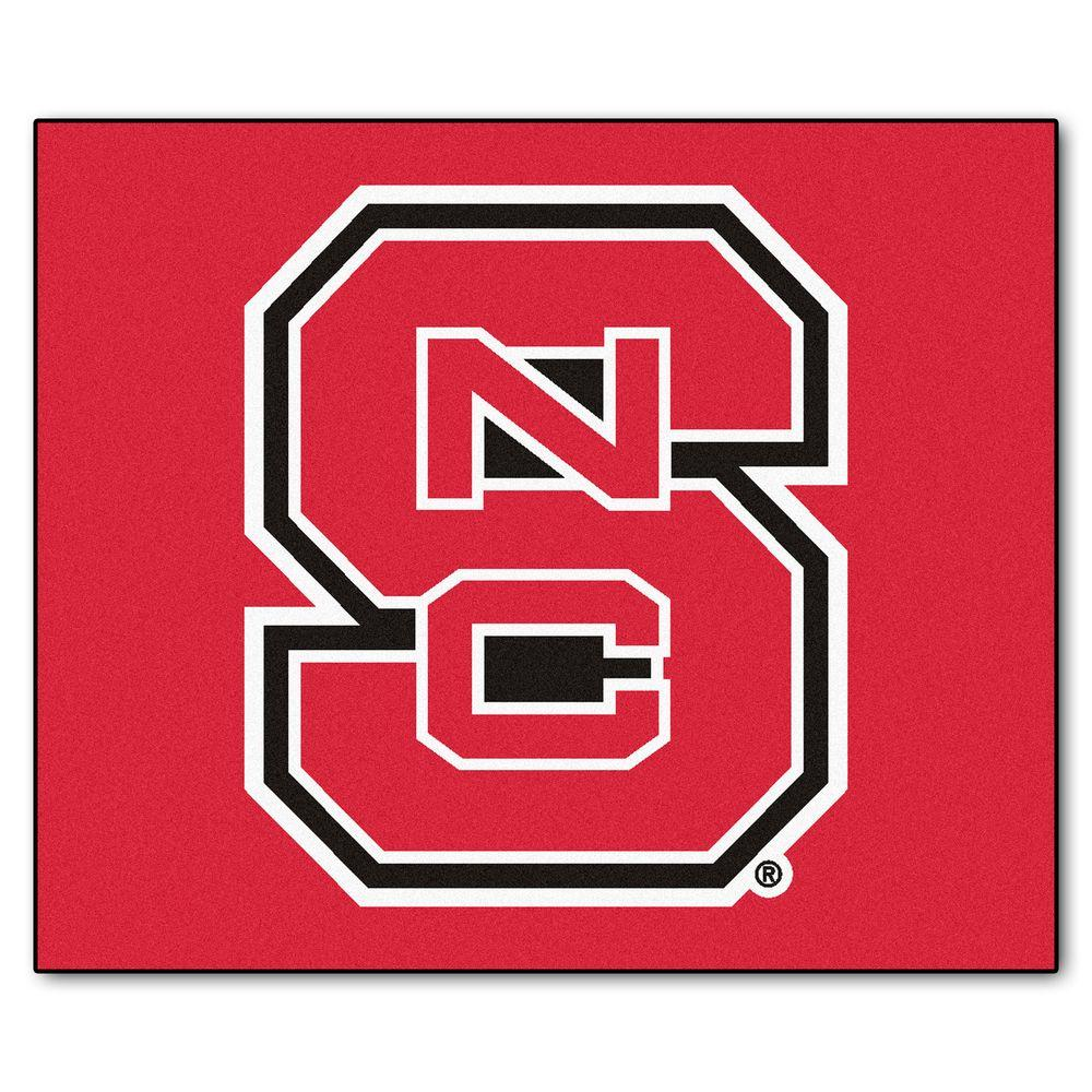 FANMATS North Carolina State 5 ft. x 6 ft. Tailgater Rug-3368