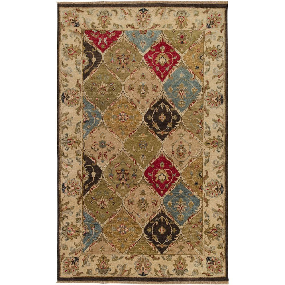 Artistic Weavers Salm Chocolate 5 ft. x 8 ft. Area Rug