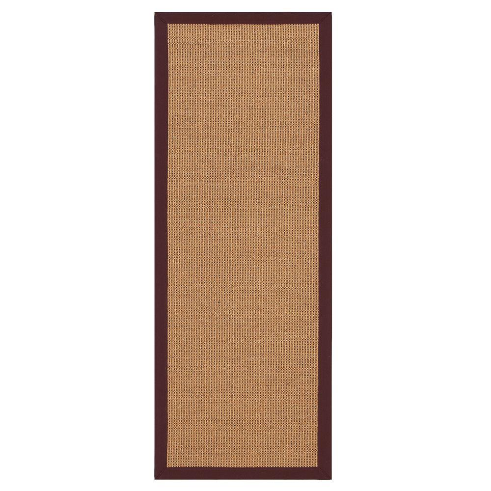 Home Decorators Collection Rio Amber/Burgundy 2 ft. 3 in. x 6 ft. Rug Runner