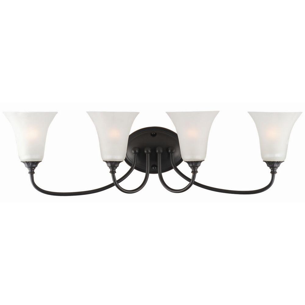 Design House Hyde 4-Light Oil Rubbed Bronze Wall Mount Sconce-514646 -