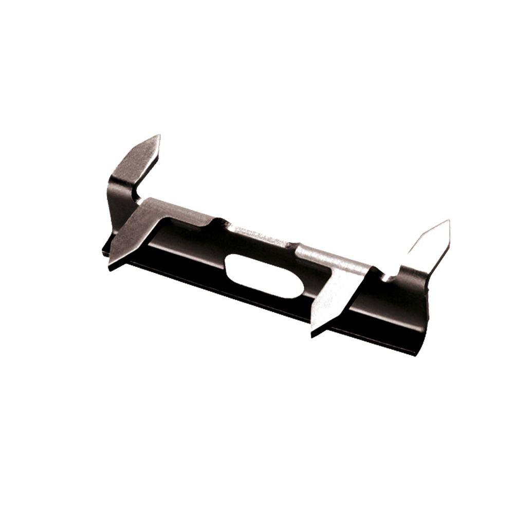 Stainless Steel Painted Black Fastener for Mahogany or Composite with Screws