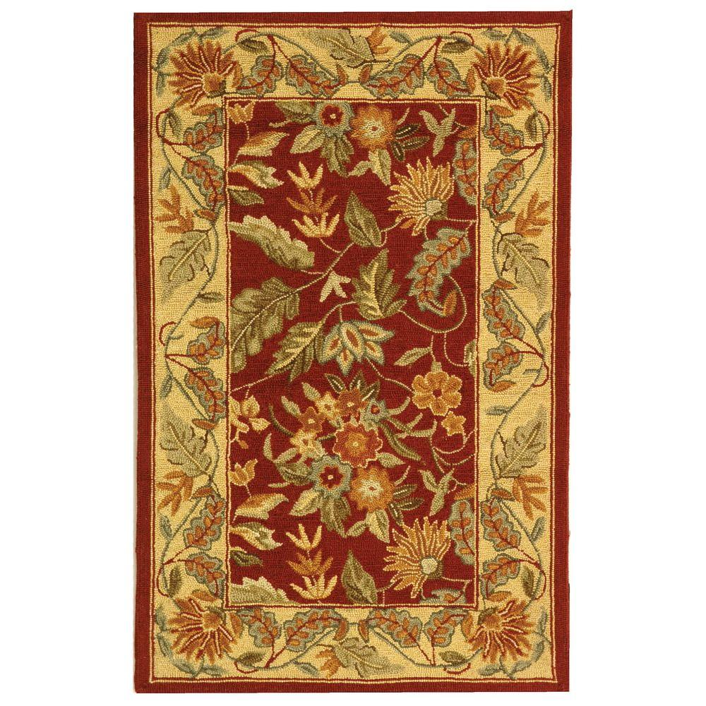 Safavieh Chelsea Red 2 ft. 6 in. x 4 ft. Area Rug