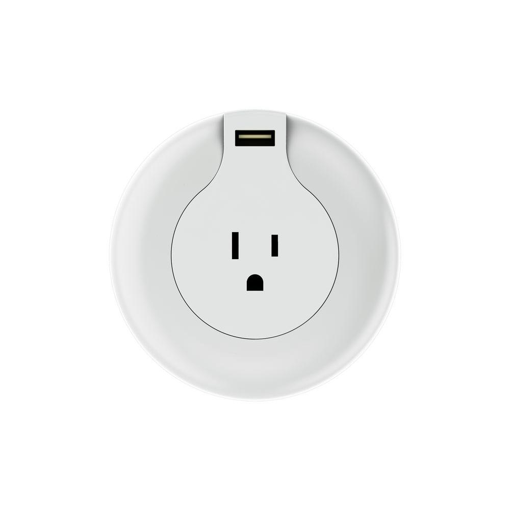 NL Automatic LED Night Light with USB Charger