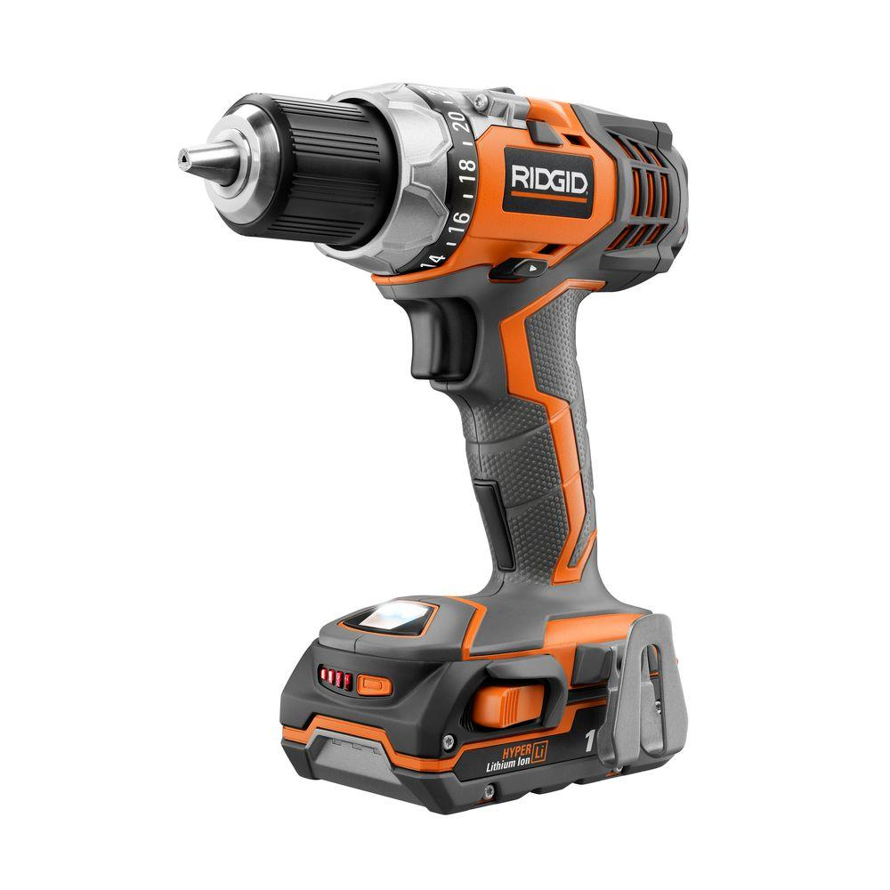 RIDGID X4 Reconditioned 18-Volt Lithium-Ion 1/2 in. Cordless Compact Drill Kit
