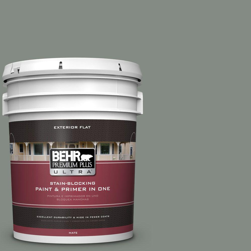 5-gal. #710F-5 Valley Hills Flat Exterior Paint