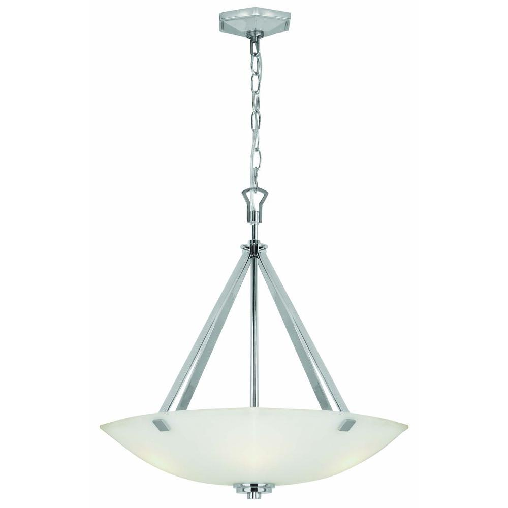 Home Decorators Collection Sydney 3 Light Polished Nickel