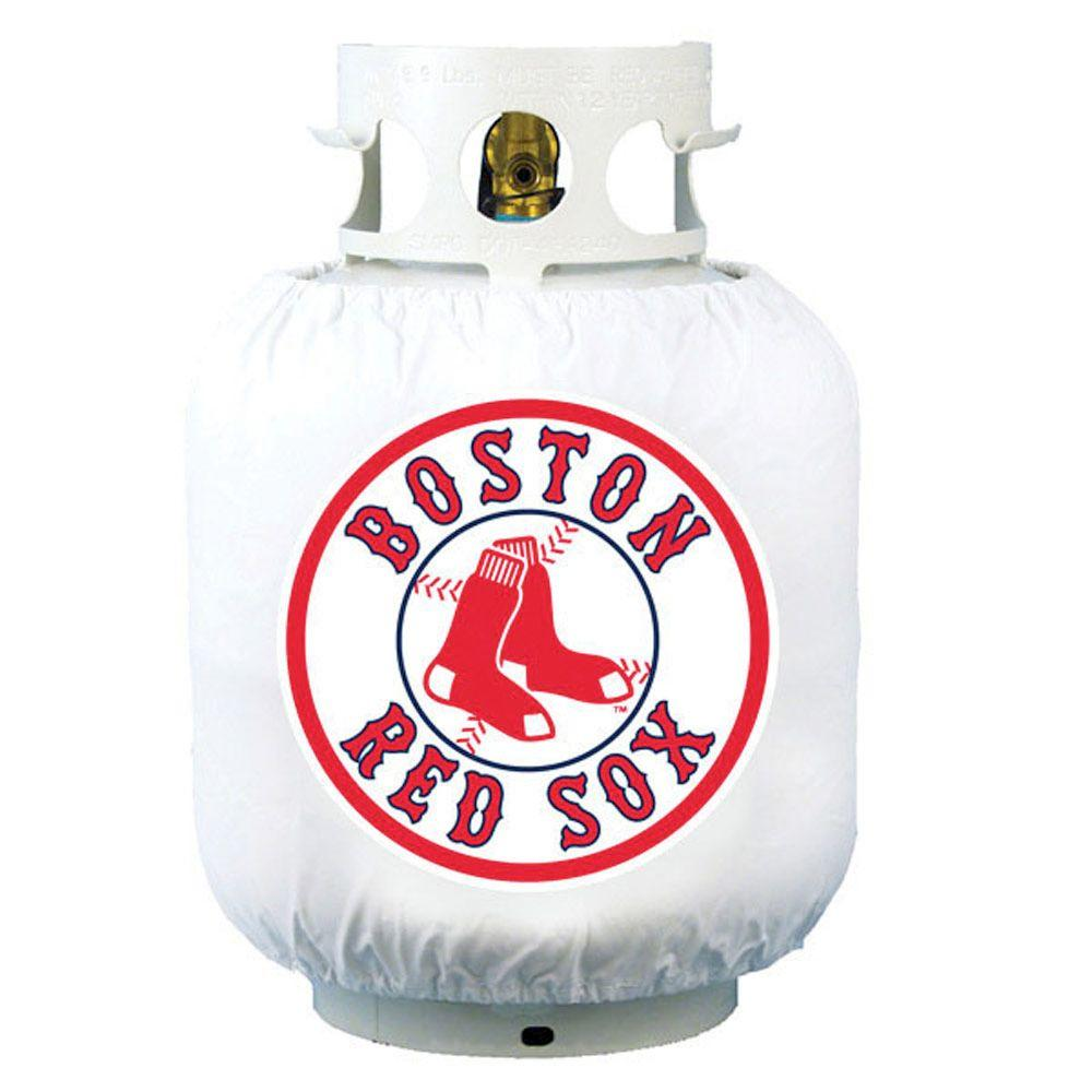 Team Sports America Boston Red Sox MLB Grill Propane Tank Cover