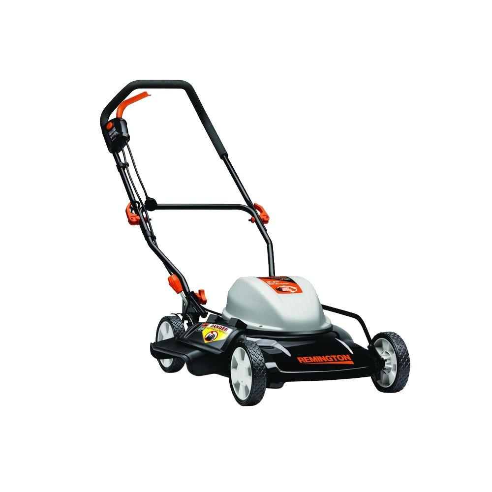 19 in. 12 Amp 2-in-1 Walk-Behind Corded Electric Mower