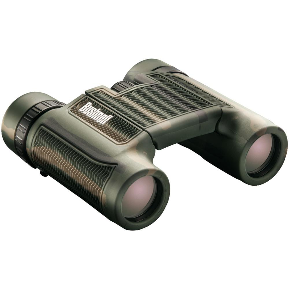H2o Roof Prism Compact Foldable Binoculars in Camo (10 x 25