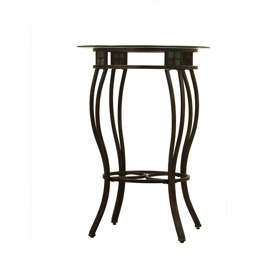 Beau Black and Gold Pub/Bar Table