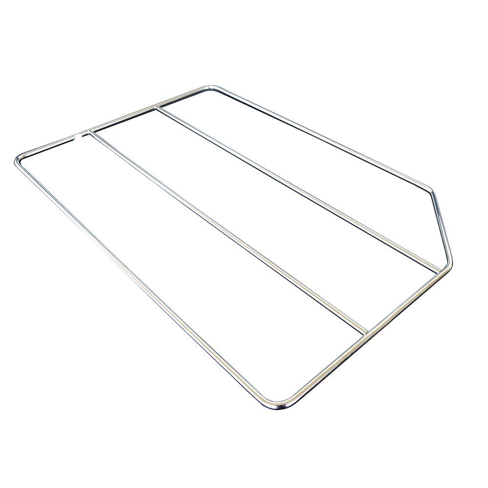 20x0.25x12 in. Tray Divider in Gloss Chrome