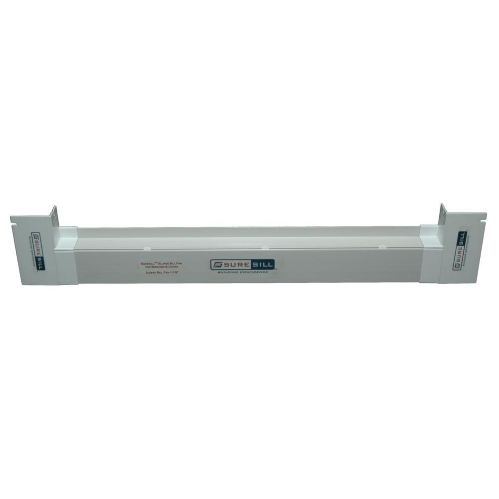 SureSill 1-1/8 in. x 150 in. Sloped Sill Pan-HDO 1_1/8S 150