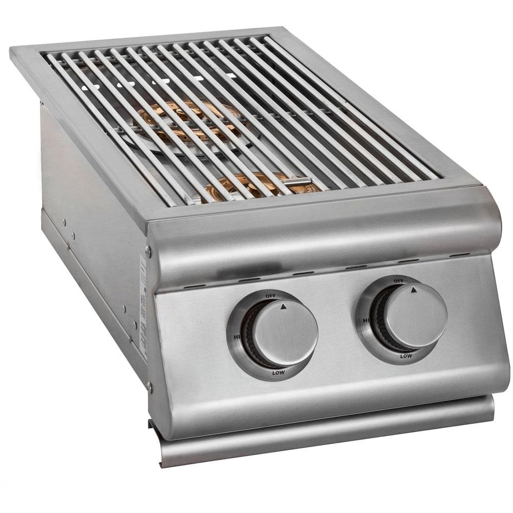 Stainless Steel Propane Gas Built-In Double Side Burner