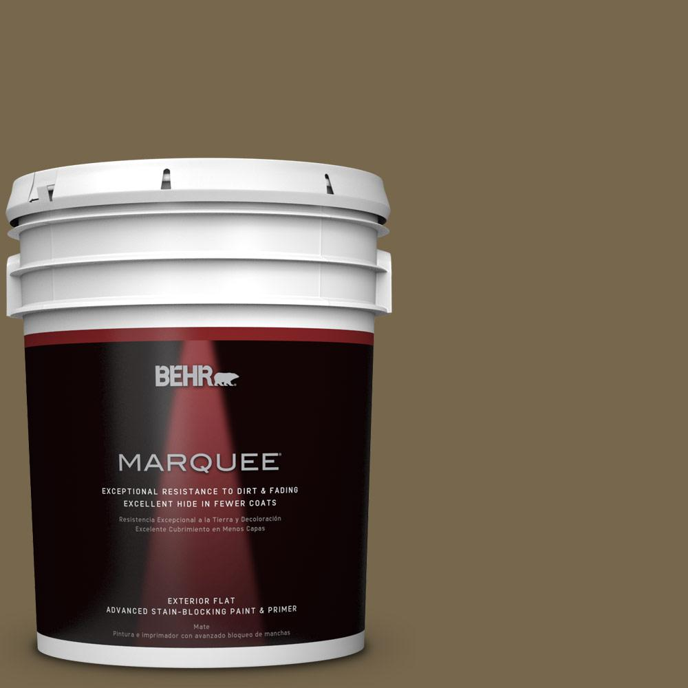 BEHR MARQUEE 5-gal. #T14-6 Boho Flat Exterior Paint