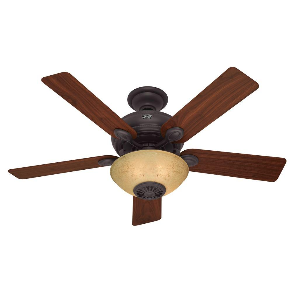 Westover 52 in. New Bronze Ceiling Fan-DISCONTINUED