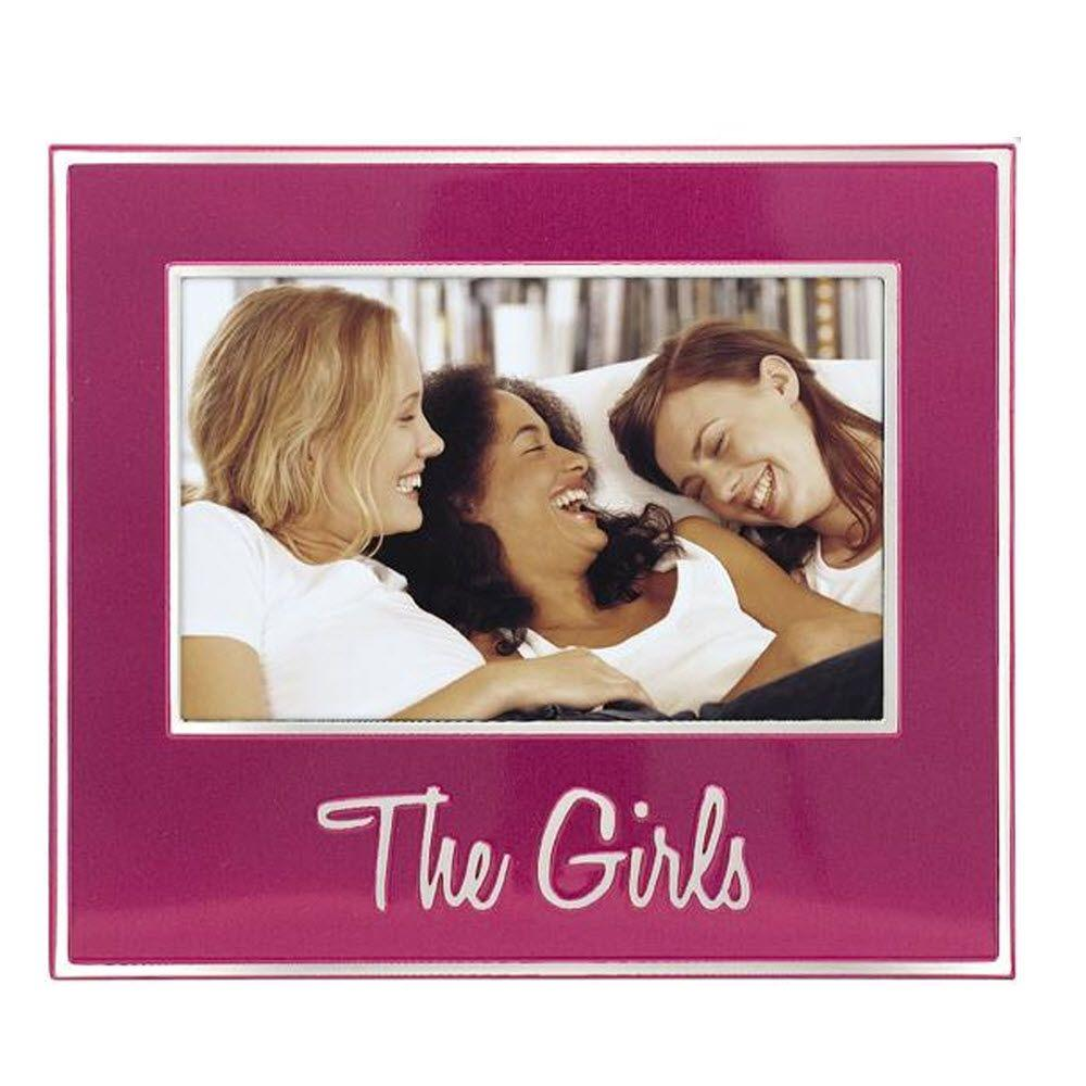 Home Decorators Collection The Girls 1-Opening 7 in. x 8 in. Hot Pink Picture Frame