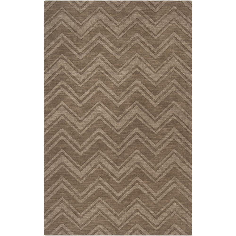 Georgetown Taupe 3 ft. 3 in. x 5 ft. 3 in.