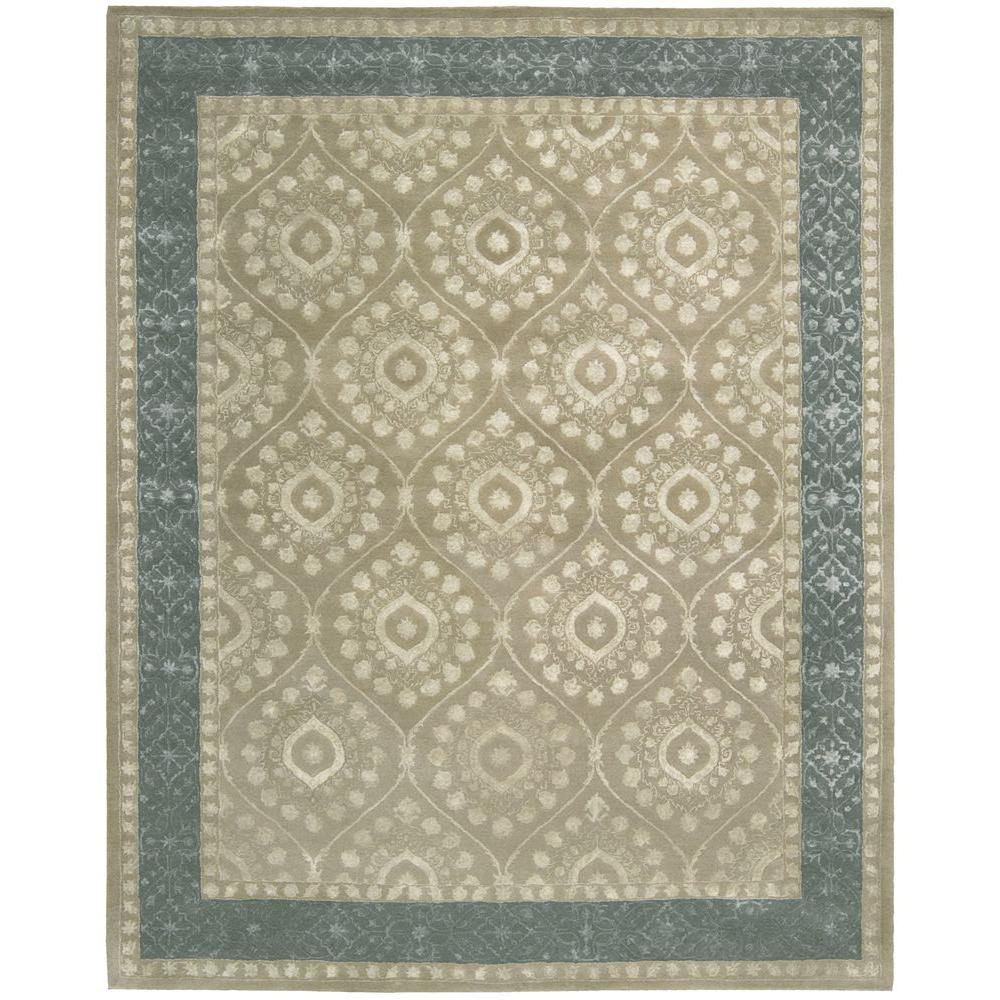 Nourison Symphony Taupe 8 ft. x 11 ft. Area Rug-023490 -