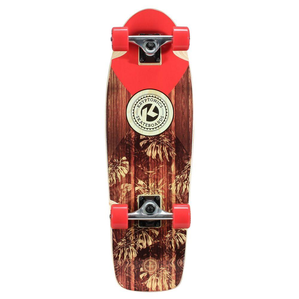 28 in. Solid-In Lay Cruiser Complete Skateboard