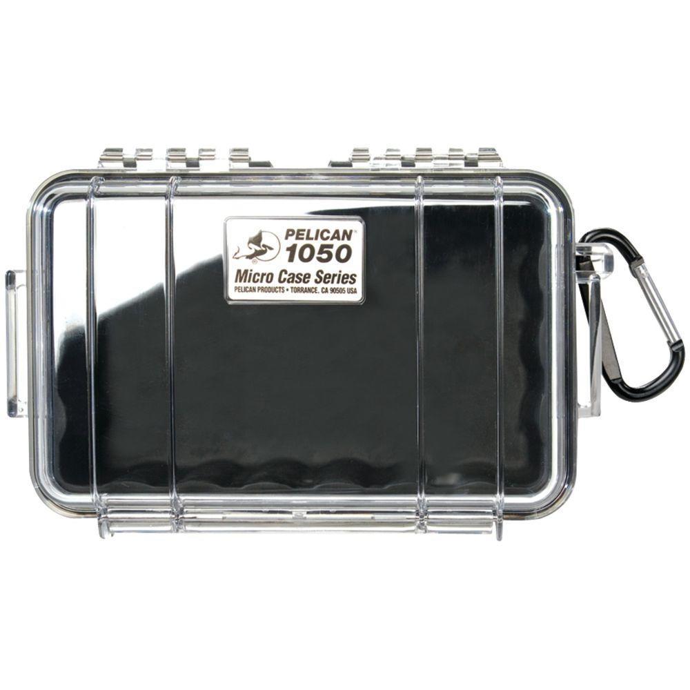 Pelican Micro Case, Black/Clear-1050-025-100 - The Home Depot
