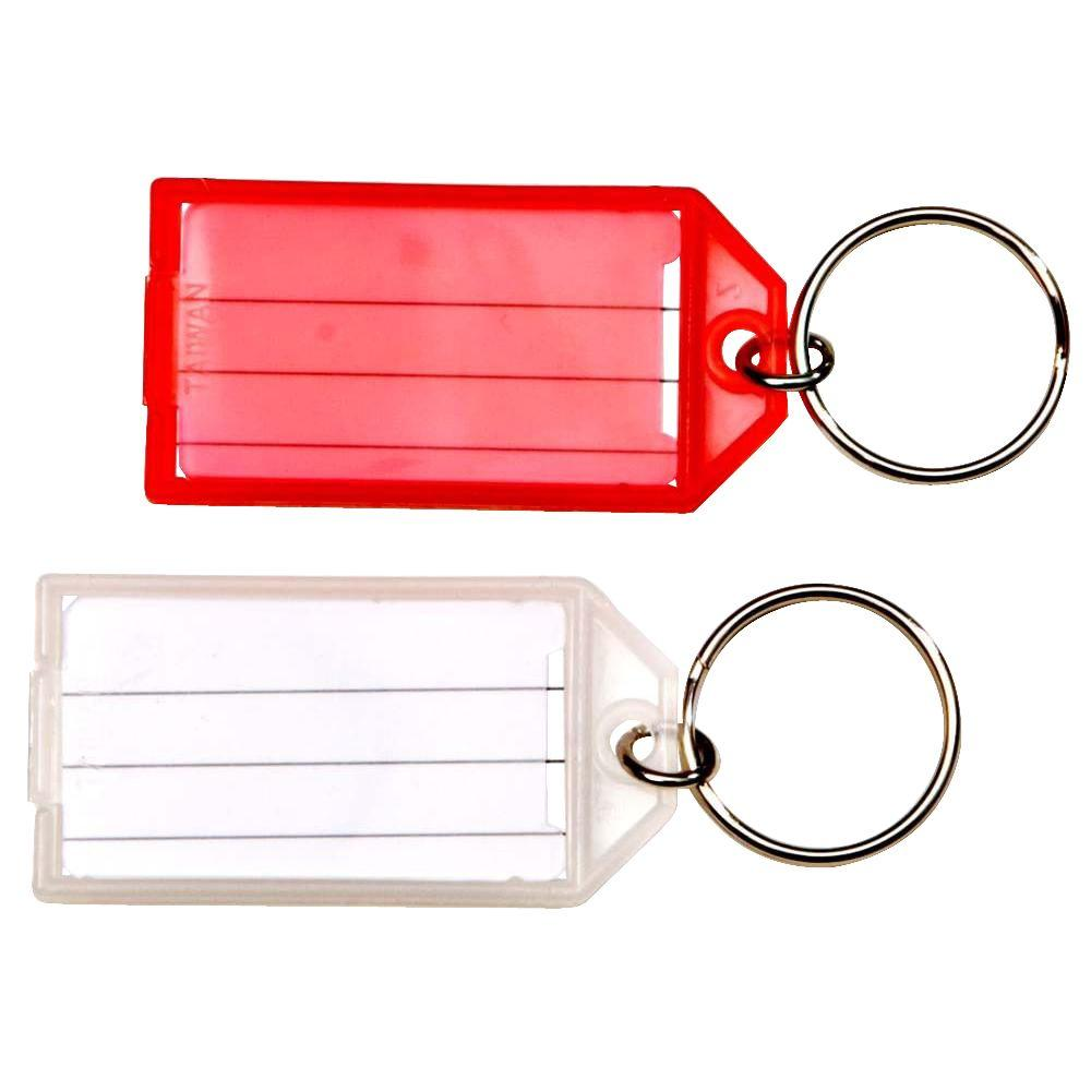 Assorted Easy-Open Key Tag with Split Ring