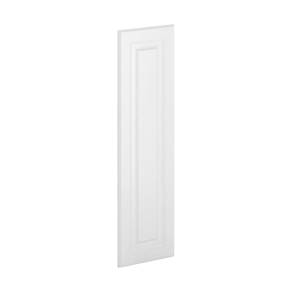 12x42x 0.75 in. Madison Wall Deco End Panel in Warm White