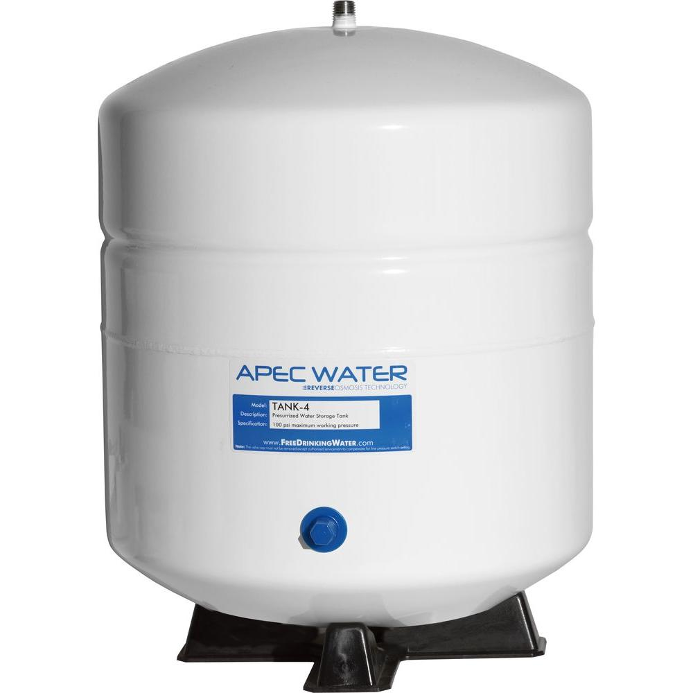 4 gal. Pre-Pressurized Residential Reverse Osmosis Drinking Water Storage Tank