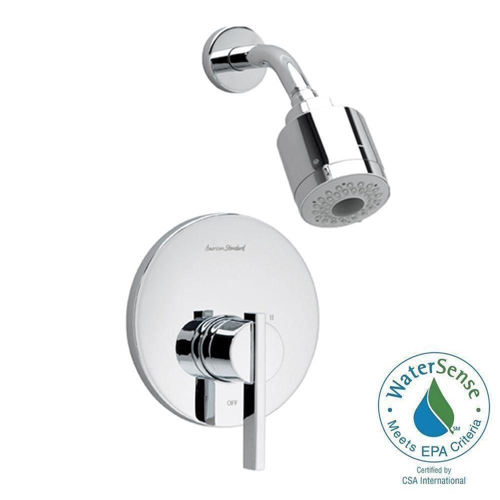 American Standard Berwick 1-Handle Shower Faucet Trim Kit, 3-Function Showerhead