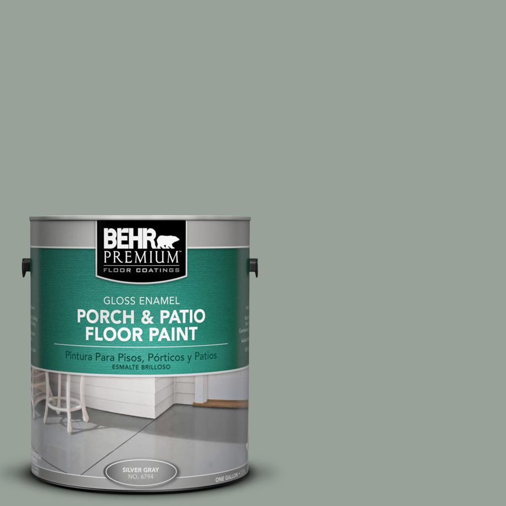 1 gal. #N410-4 Nature's Gift Gloss Porch and Patio Floor Paint
